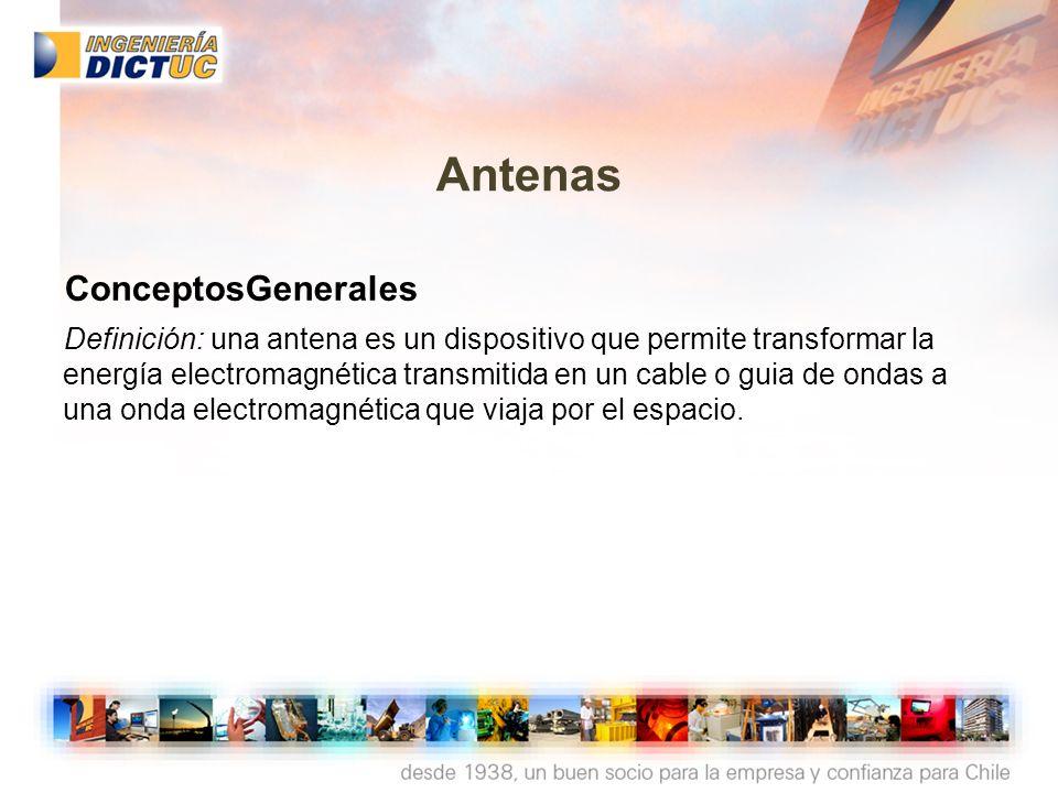 Antenas ConceptosGenerales
