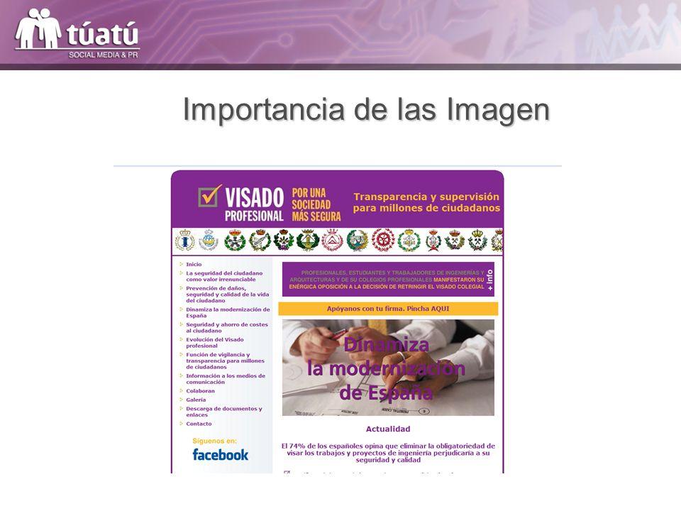 Importancia de las Imagen