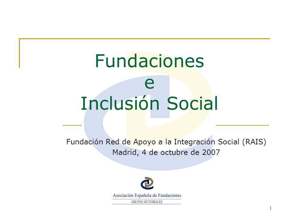 Fundaciones e Inclusión Social