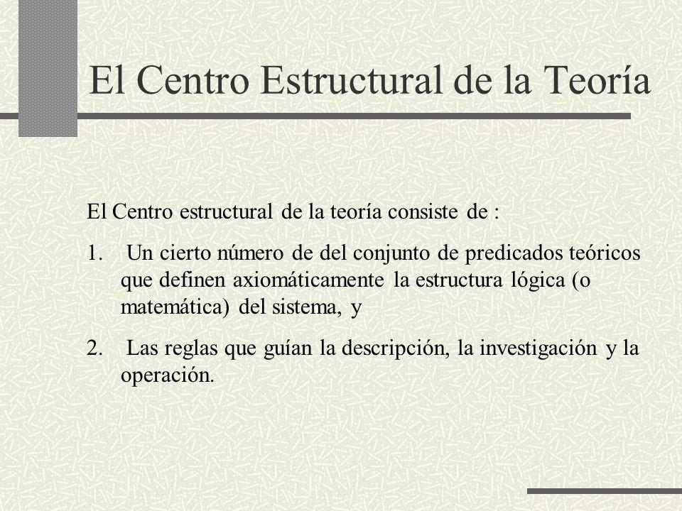 El Centro Estructural de la Teoría