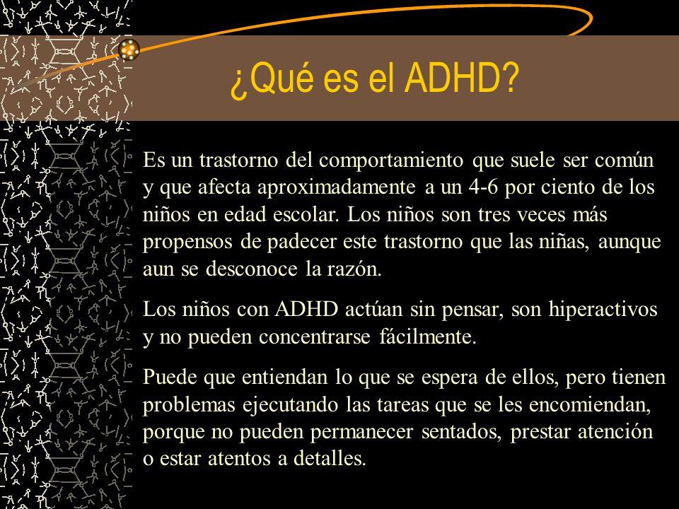 ¿Qué es el ADHD
