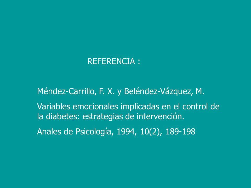 REFERENCIA :Méndez-Carrillo, F. X. y Beléndez-Vázquez, M.