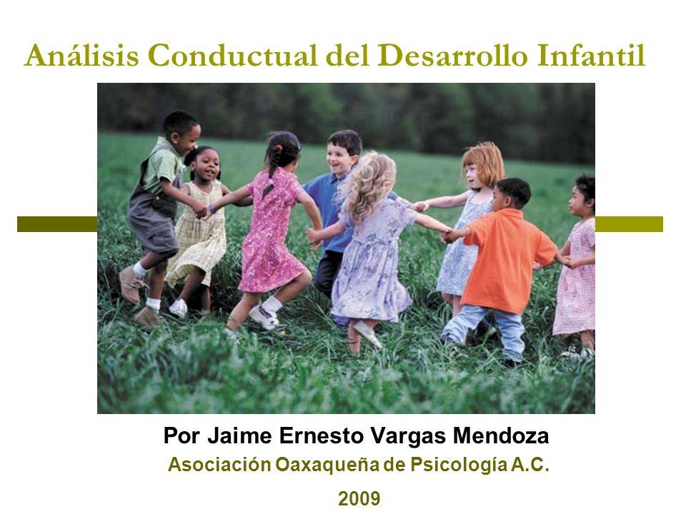 Análisis Conductual del Desarrollo Infantil