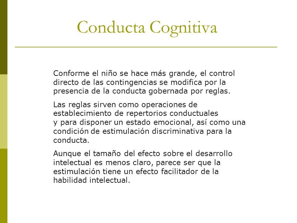 Conducta Cognitiva