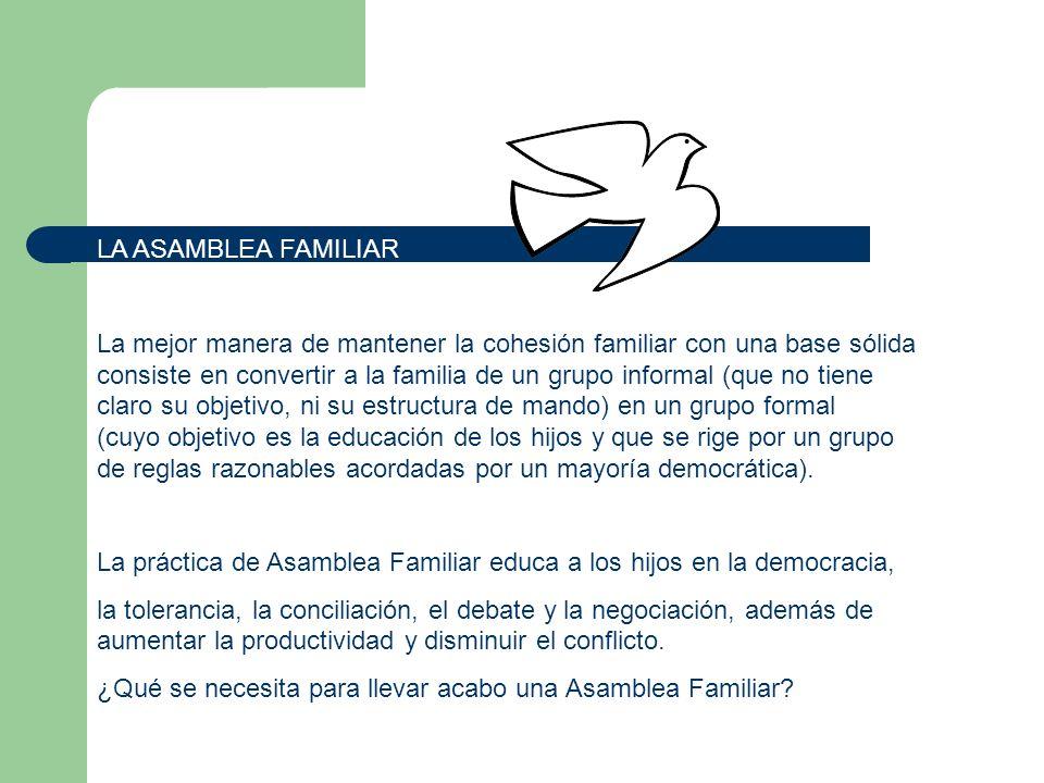 LA ASAMBLEA FAMILIAR