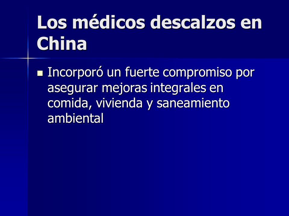 Los médicos descalzos en China
