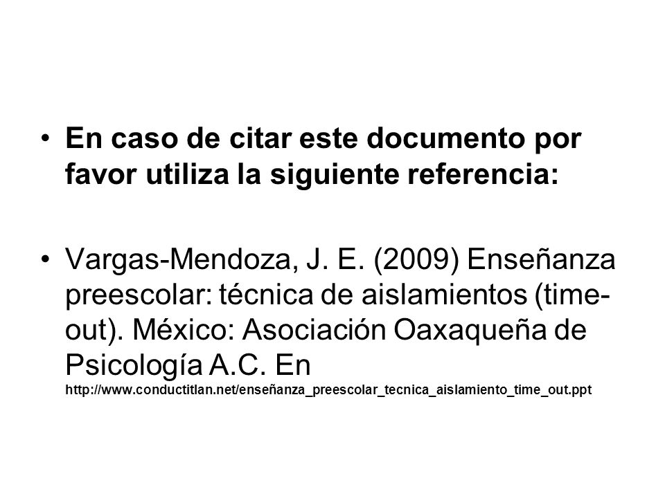 En caso de citar este documento por favor utiliza la siguiente referencia: