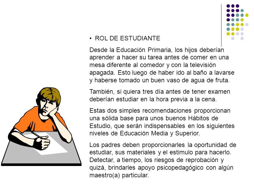 ROL DE ESTUDIANTE