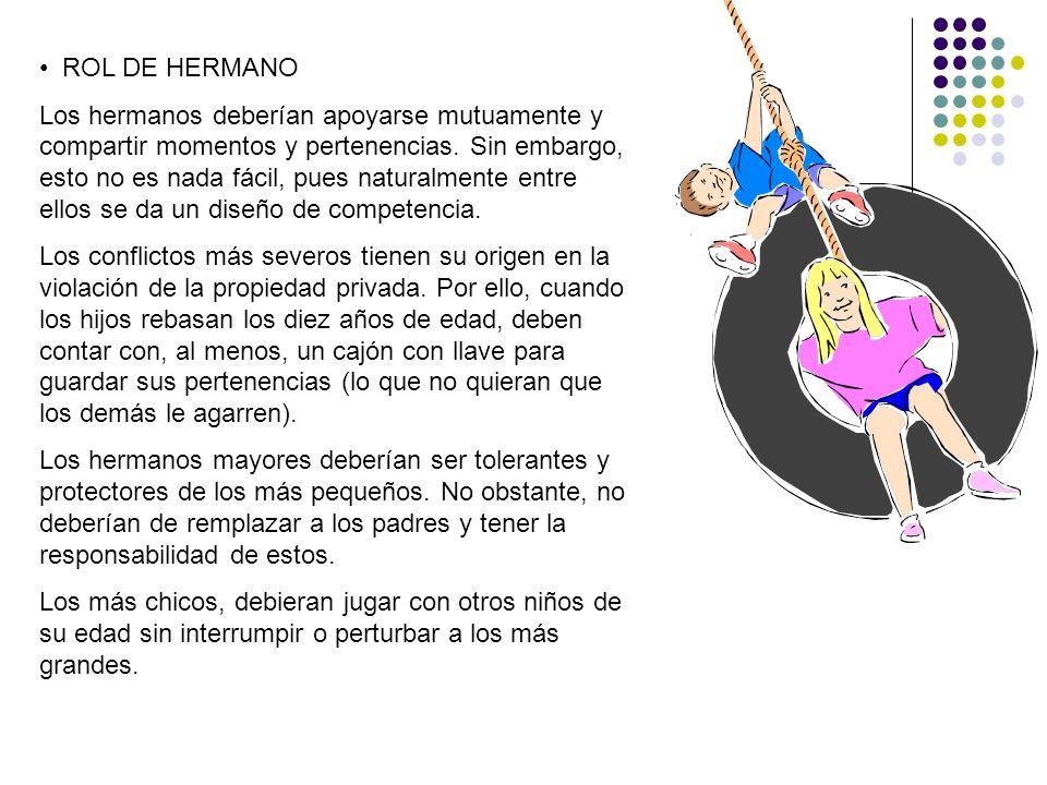 ROL DE HERMANO