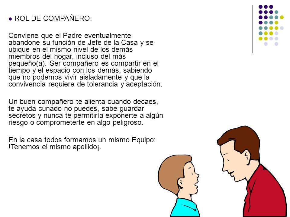 ROL DE COMPAÑERO: