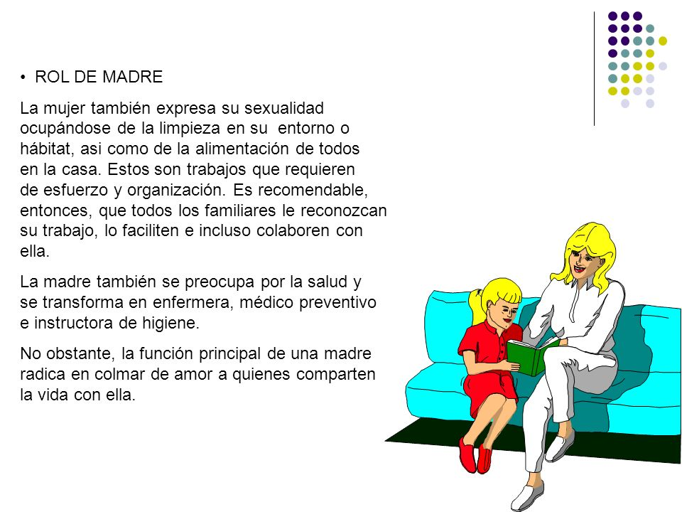 ROL DE MADRE
