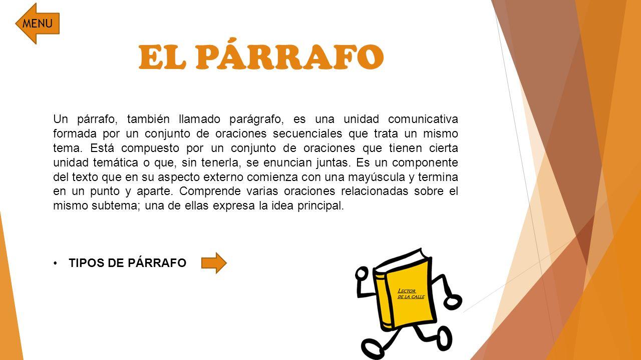 El texto la argumentaci n el p rrafo ppt video online for Cual es el compuesto principal del marmol