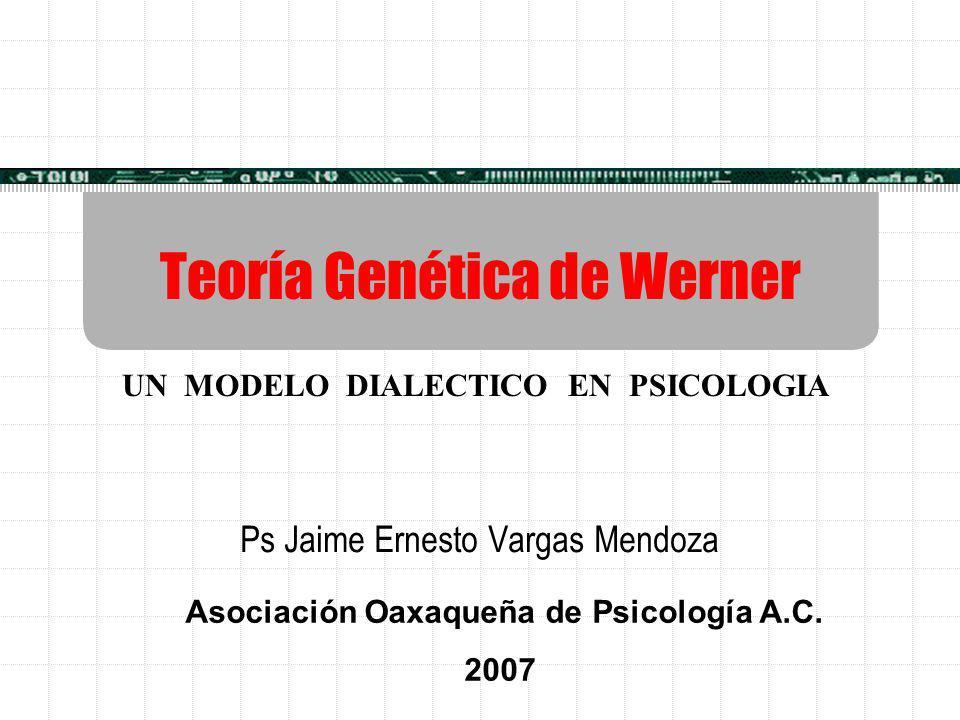 Teoría Genética de Werner