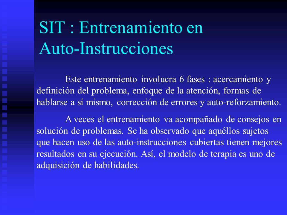 SIT : Entrenamiento en Auto-Instrucciones