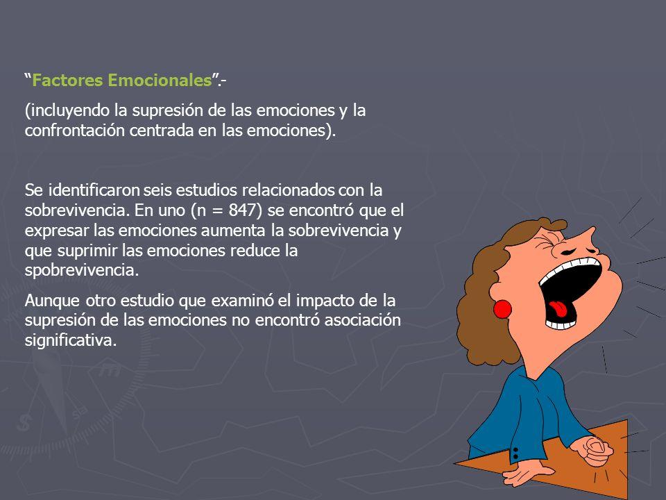 Factores Emocionales .-