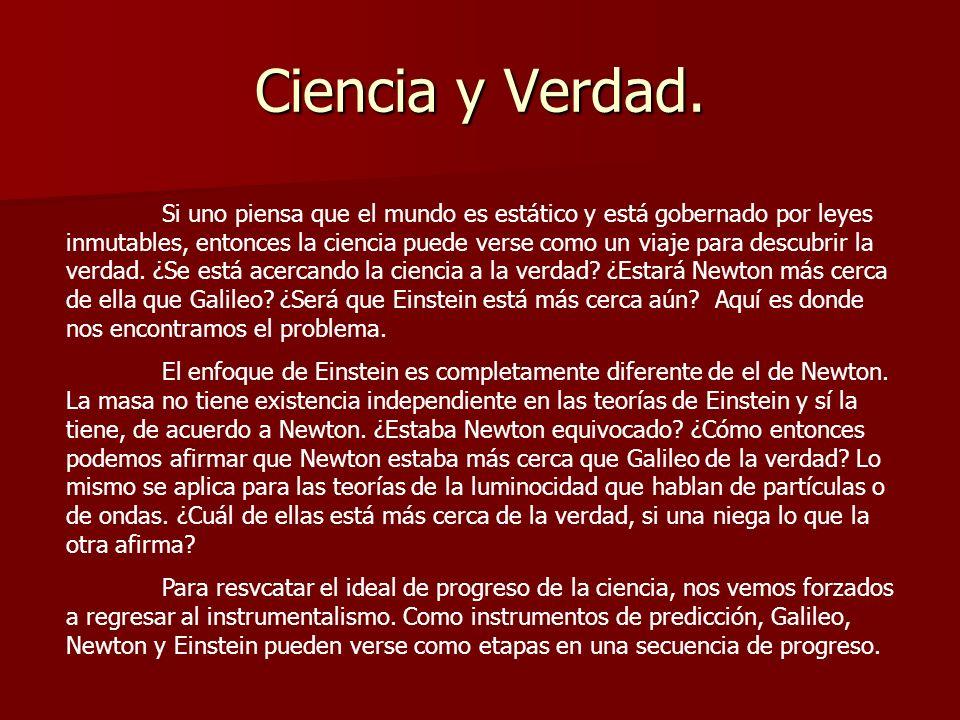 Ciencia y Verdad.