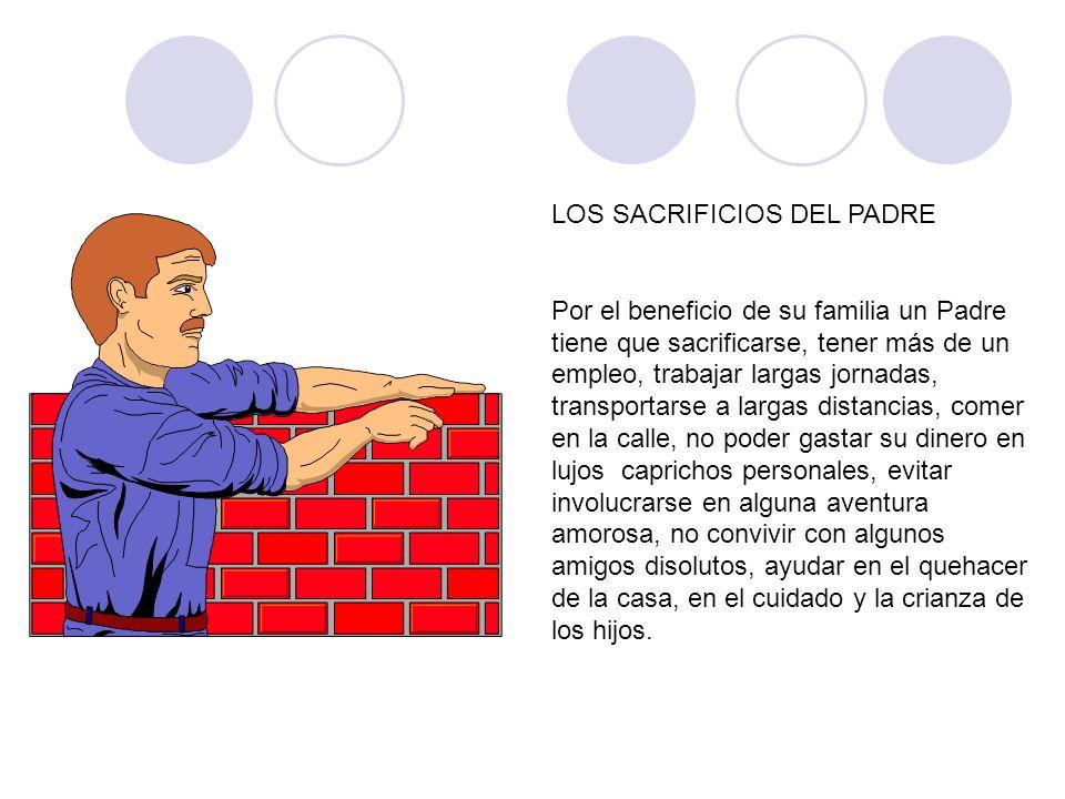 LOS SACRIFICIOS DEL PADRE