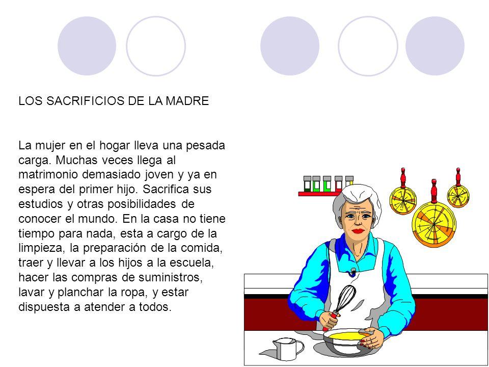 LOS SACRIFICIOS DE LA MADRE
