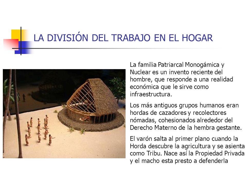 LA DIVISIÓN DEL TRABAJO EN EL HOGAR