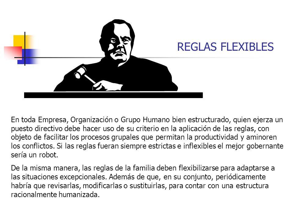REGLAS FLEXIBLES