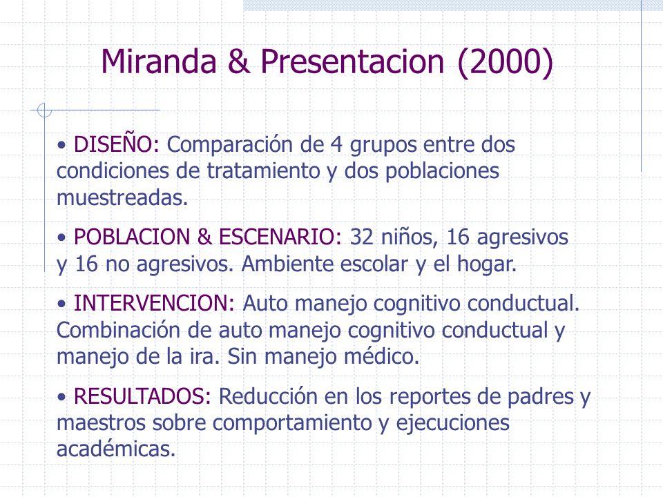 Miranda & Presentacion (2000)