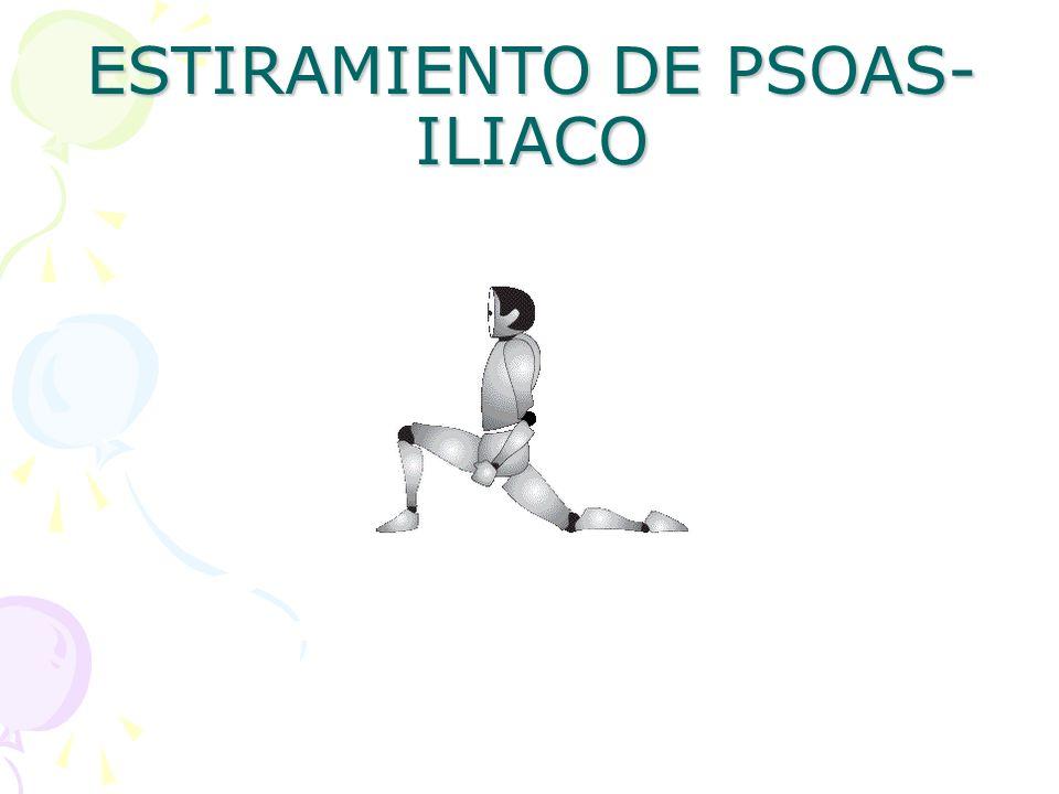 ESTIRAMIENTO DE PSOAS-ILIACO