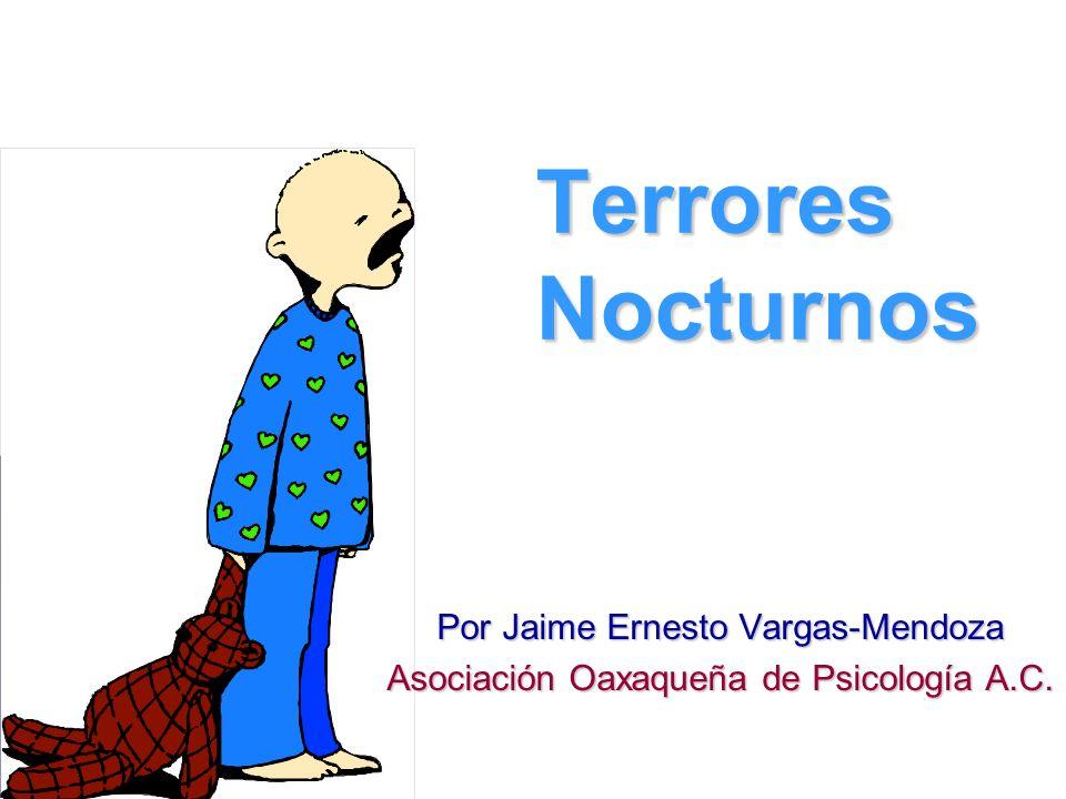 Terrores Nocturnos Por Jaime Ernesto Vargas-Mendoza