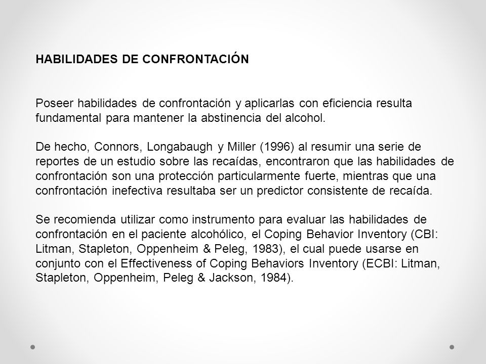 HABILIDADES DE CONFRONTACIÓN