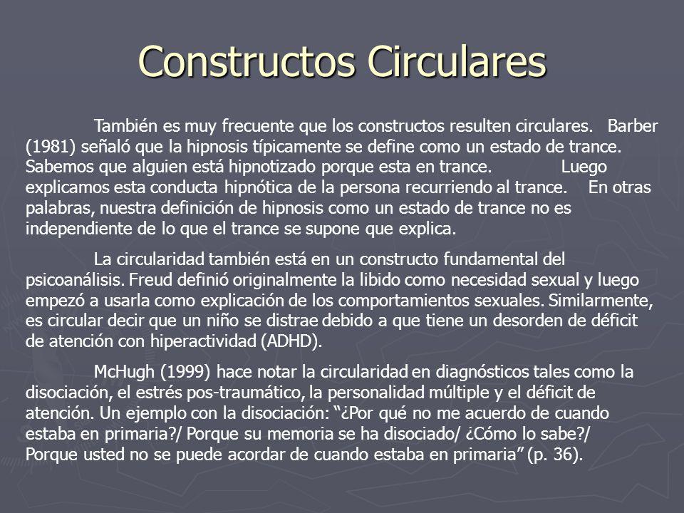 Constructos Circulares