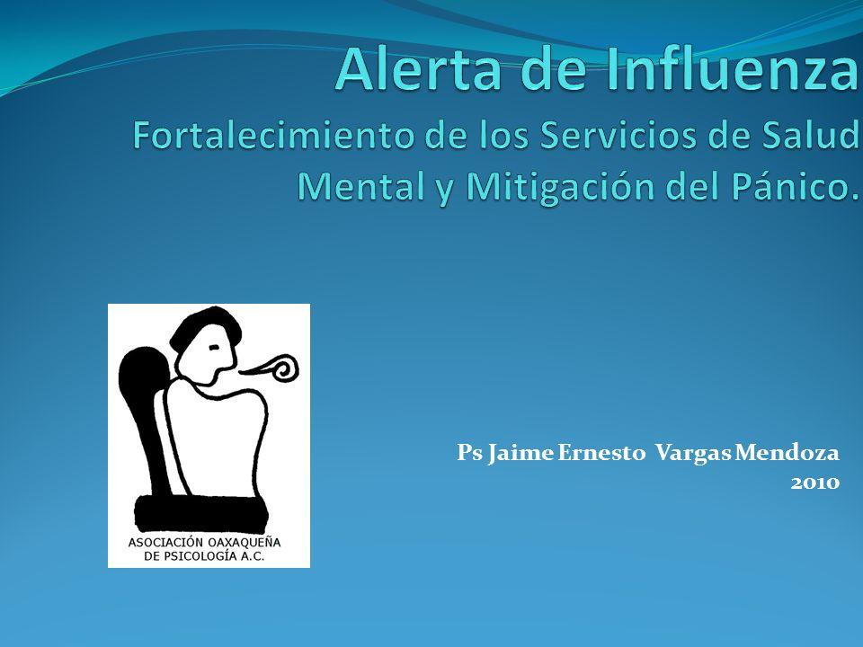 Ps Jaime Ernesto Vargas Mendoza 2010