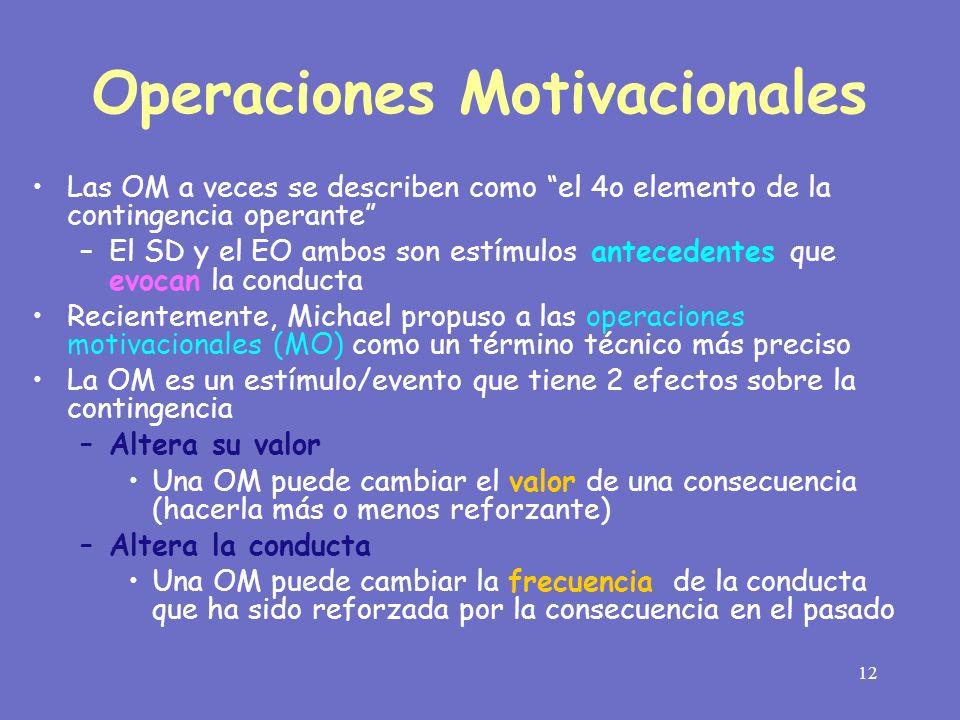Operaciones Motivacionales