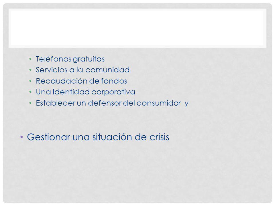 Gestionar una situación de crisis