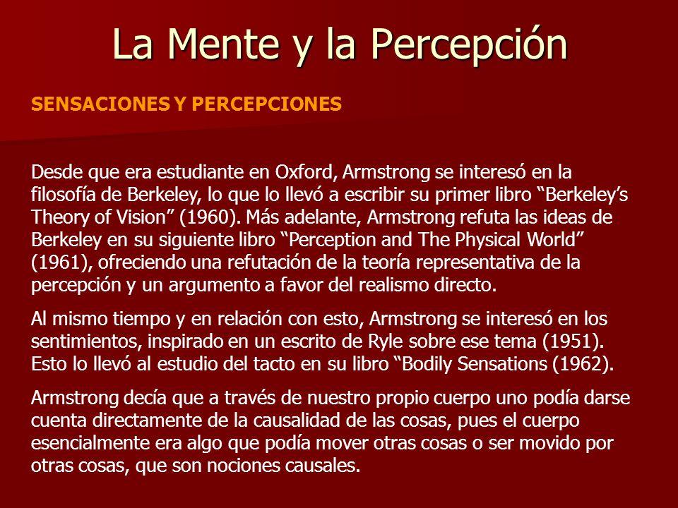 La Mente y la Percepción