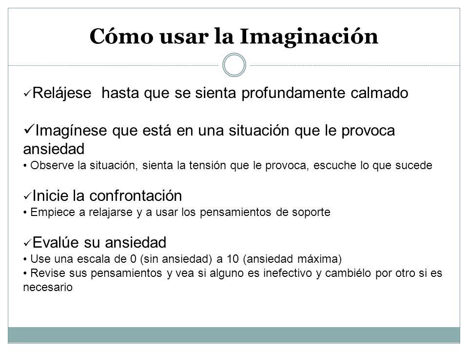 Cómo usar la Imaginación