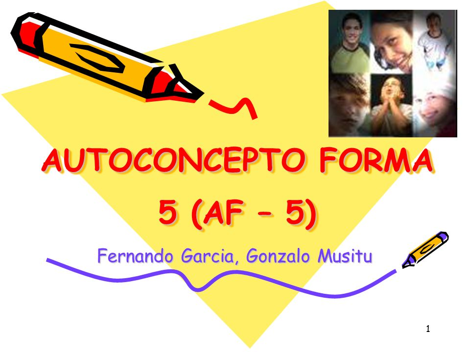 AUTOCONCEPTO FORMA 5 (AF – 5)