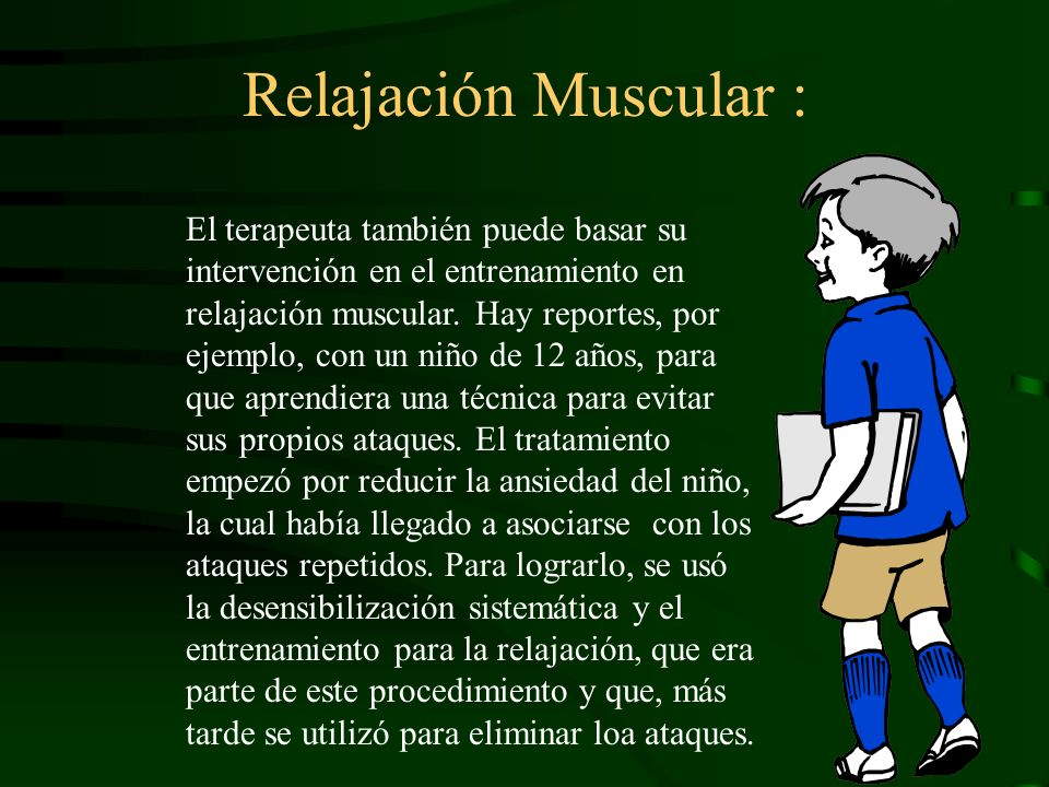 Relajación Muscular :