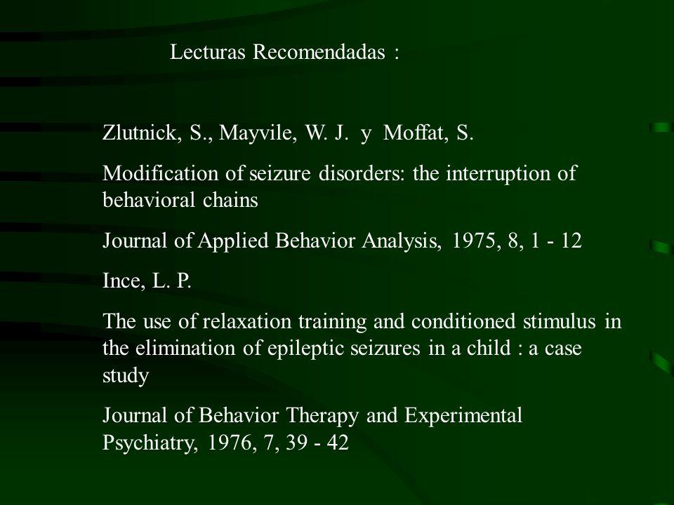 Lecturas Recomendadas :