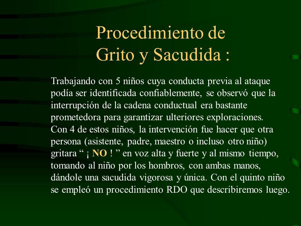 Procedimiento de Grito y Sacudida :