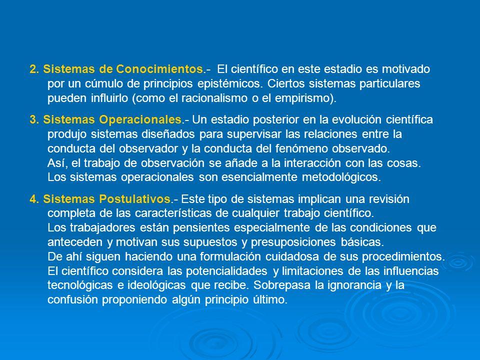2. Sistemas de Conocimientos