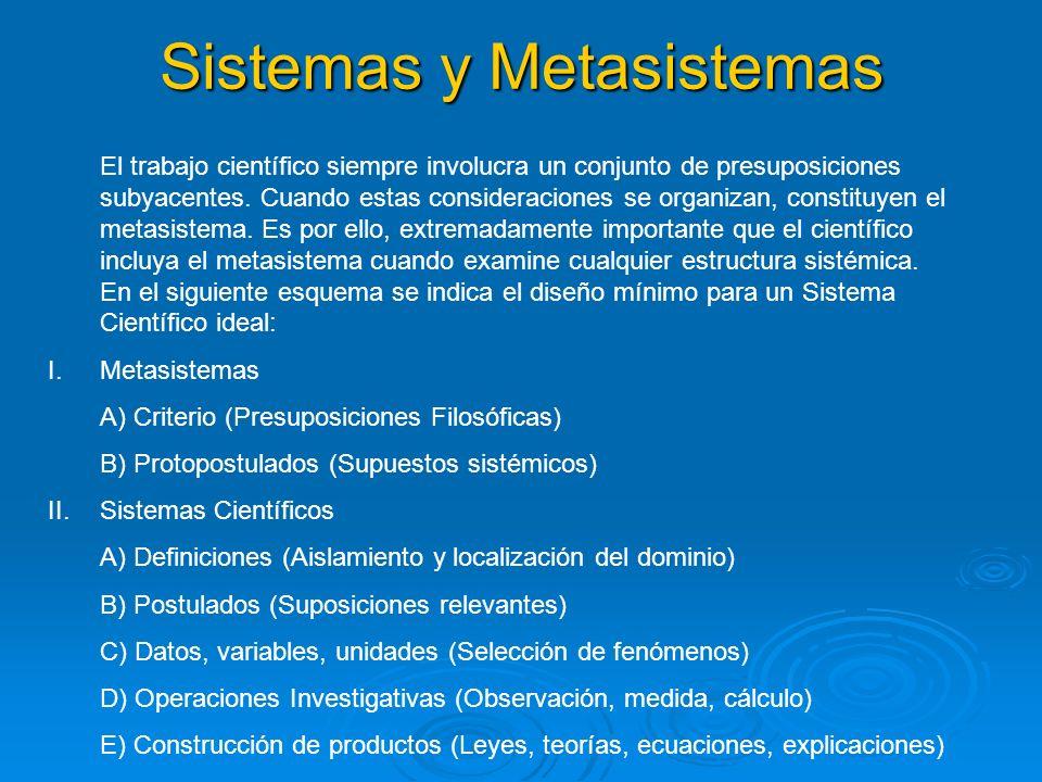 Sistemas y Metasistemas