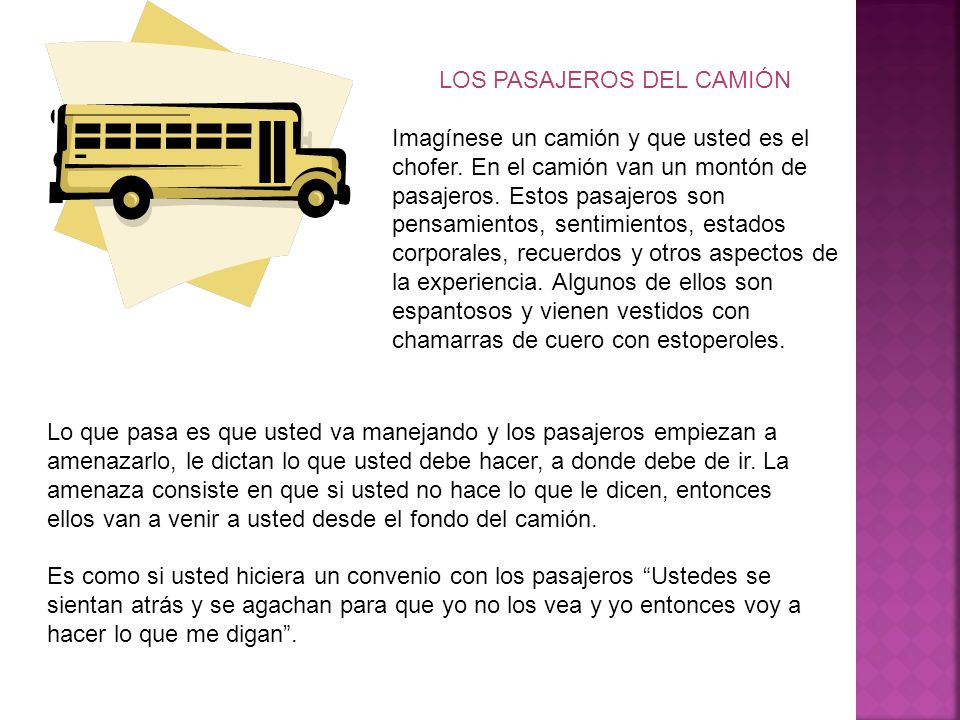 LOS PASAJEROS DEL CAMIÓN