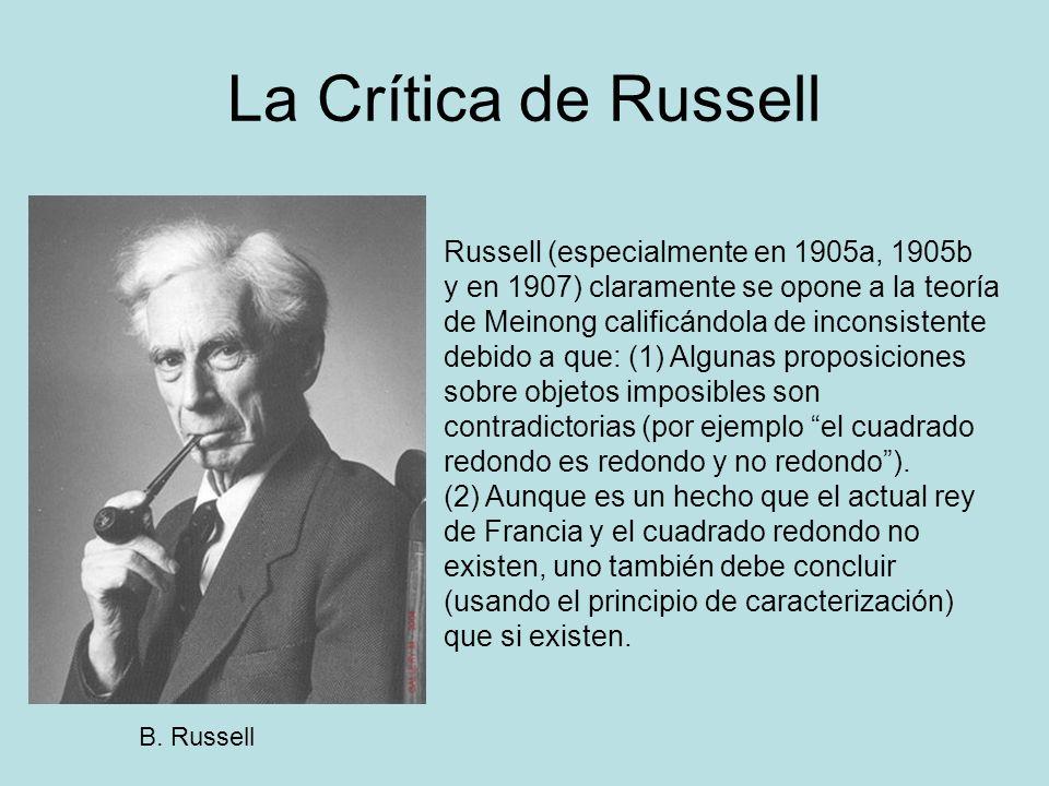 La Crítica de Russell