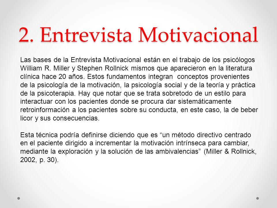 2. Entrevista Motivacional