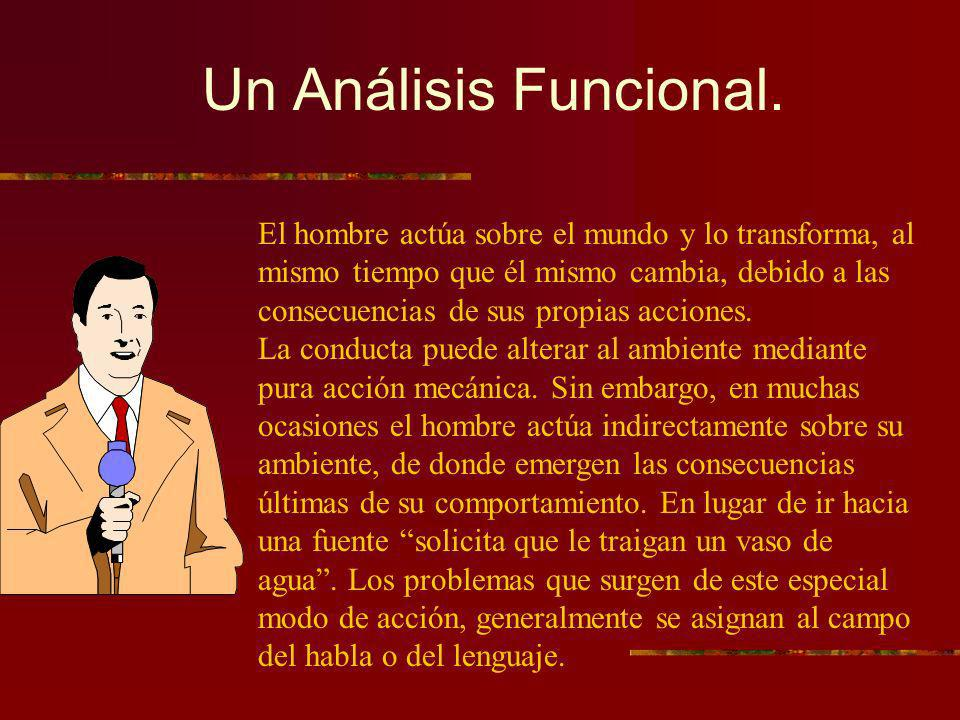 Un Análisis Funcional.
