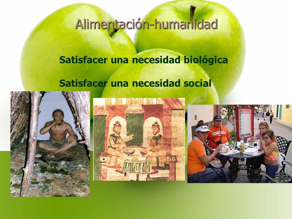Alimentación-humanidad