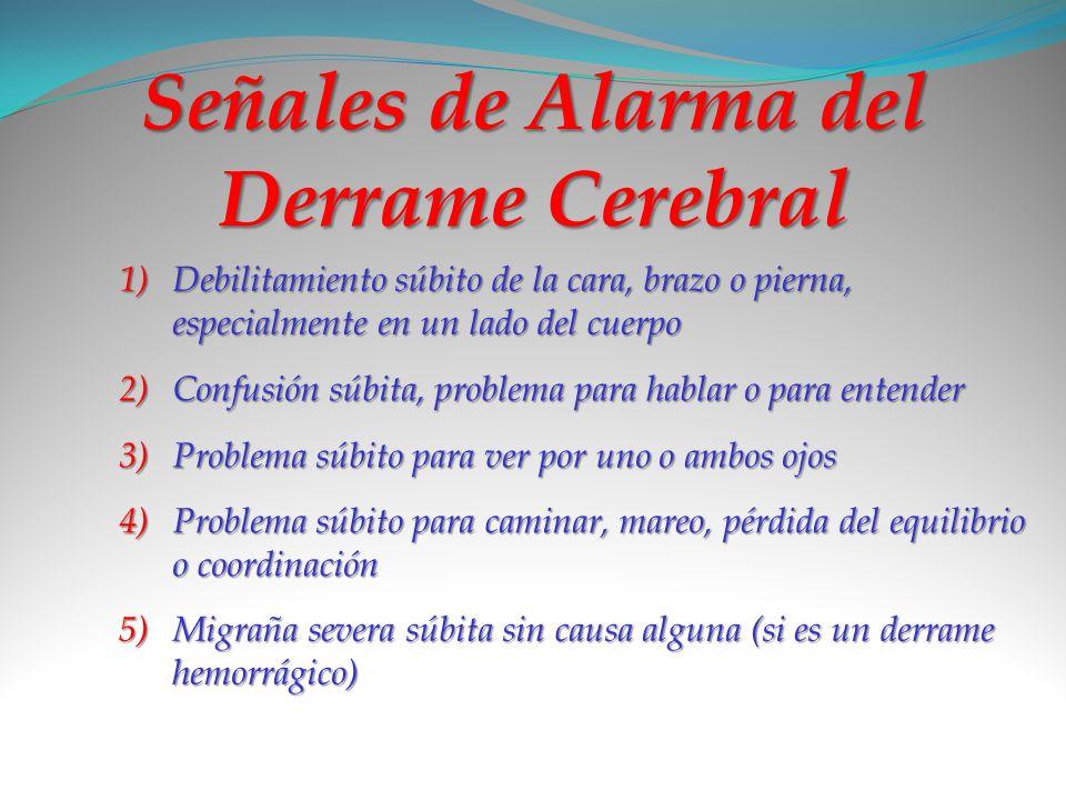 Señales de Alarma del Derrame Cerebral