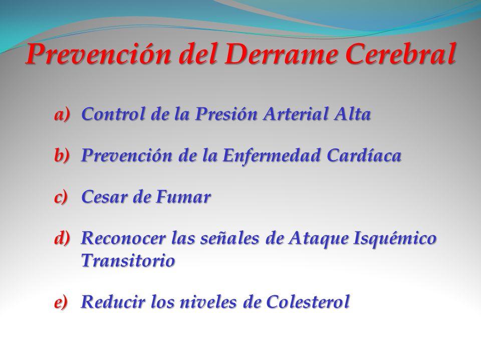 Prevención del Derrame Cerebral