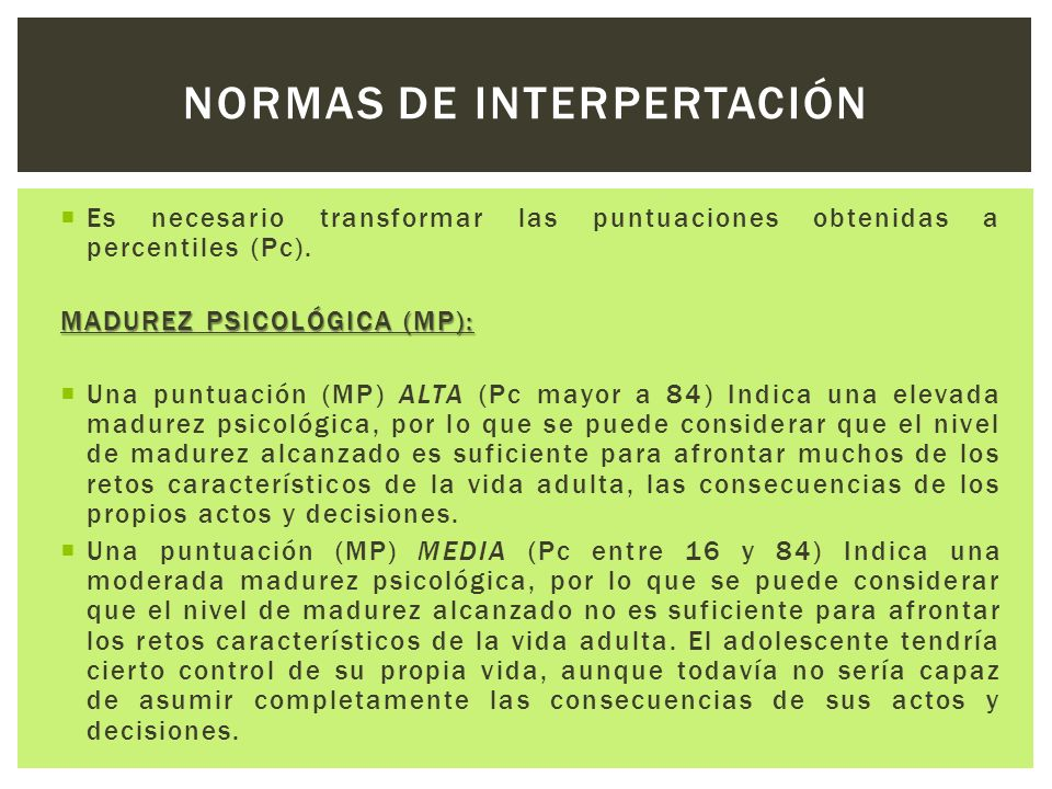 NORMAS DE INTERPERTACIÓN
