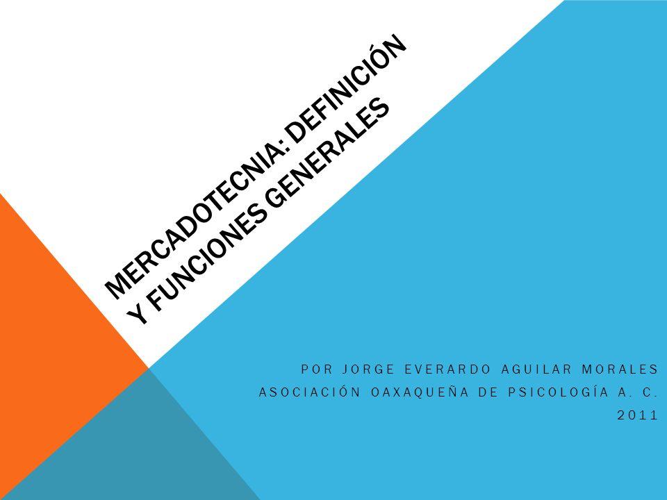 Mercadotecnia: Definición y funciones generales