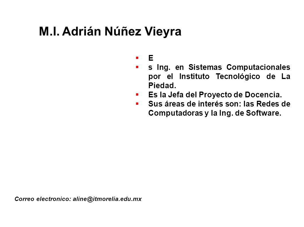 M.I. Adrián Núñez Vieyra E